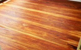 Oiled heart rimu floors
