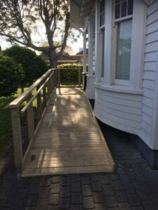 Deck builders Auckland Wheelchair Ramp Decks