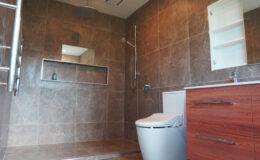 Full ensuite bathroom renovation west auckland