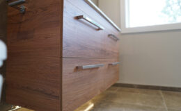 Vanity by Franklins installed by RHM Construction